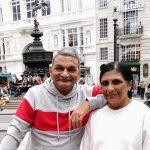 चित्रकार संदीप राशिनकर की लंदन में प्रदर्शनी,मिक्स मीडिया में अनूठी
